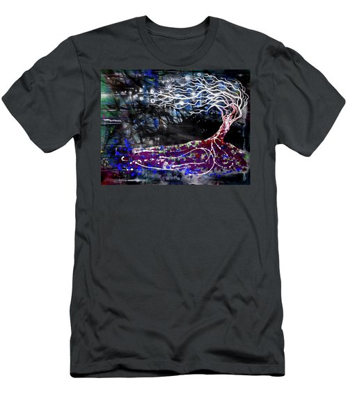 Blowing Tree Men's T-Shirt (Athletic Fit)