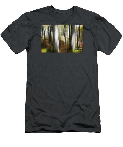 Blowing Up Men's T-Shirt (Slim Fit) by Yuri Santin