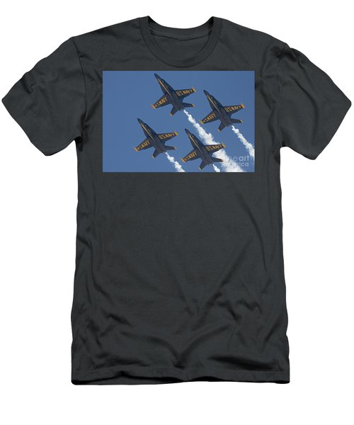 Blue Angels Blue Skies Men's T-Shirt (Athletic Fit)