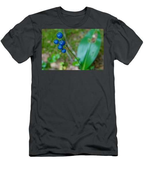 Blue Berries Men's T-Shirt (Athletic Fit)