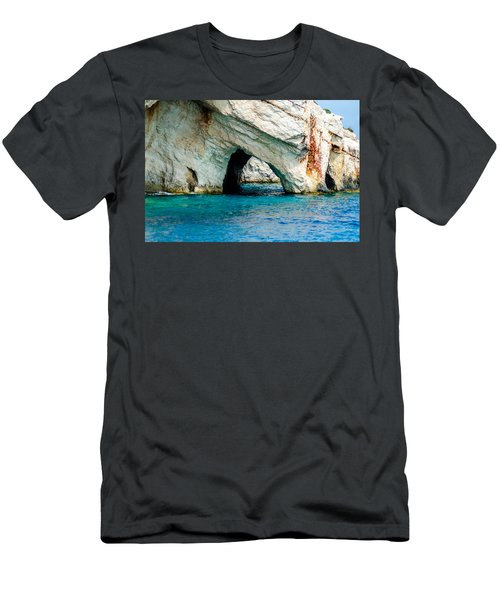 Blue Cave 4 Men's T-Shirt (Athletic Fit)