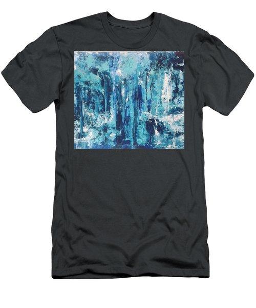 Blue Forest Men's T-Shirt (Athletic Fit)