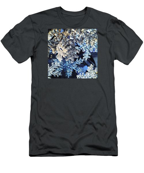 Men's T-Shirt (Athletic Fit) featuring the photograph Blue Ice by KG Thienemann