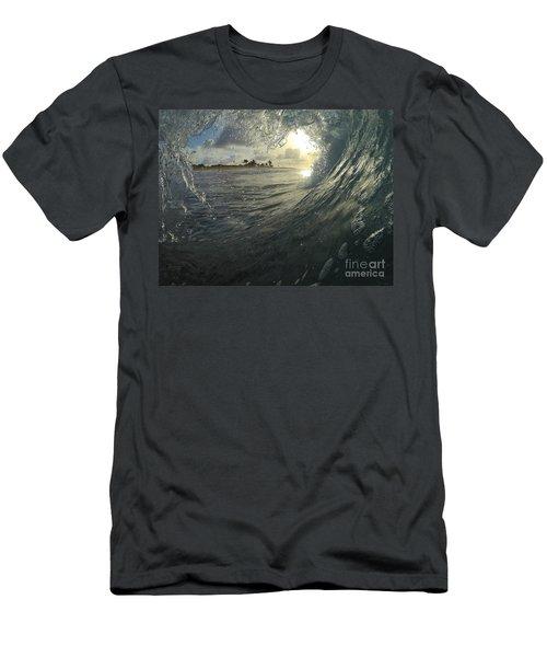 Blue Love  Men's T-Shirt (Athletic Fit)