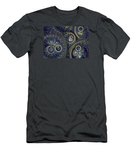 Blue Machine Men's T-Shirt (Athletic Fit)