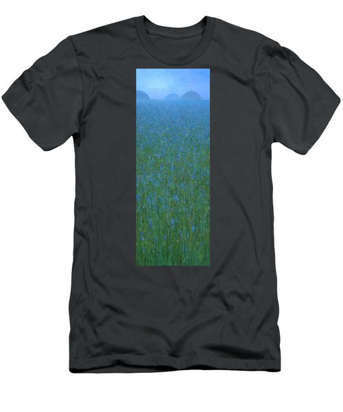 Blue Meadow 1 Men's T-Shirt (Athletic Fit)