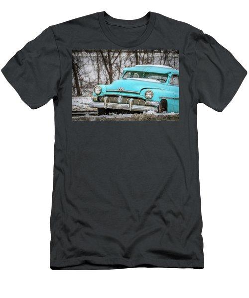 Blue Mercury Men's T-Shirt (Slim Fit) by Ray Congrove