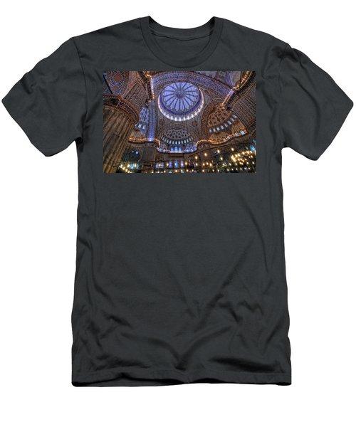 Blue Mosque Men's T-Shirt (Athletic Fit)
