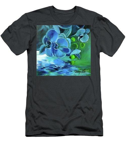 Blue Orchids Men's T-Shirt (Athletic Fit)