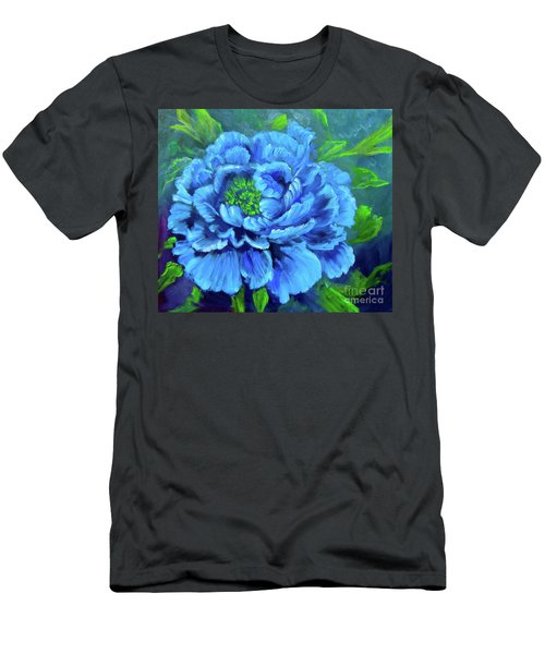 Blue Peony Jenny Lee Discount Men's T-Shirt (Athletic Fit)