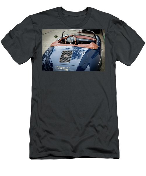 Blue Porche 356 Men's T-Shirt (Athletic Fit)