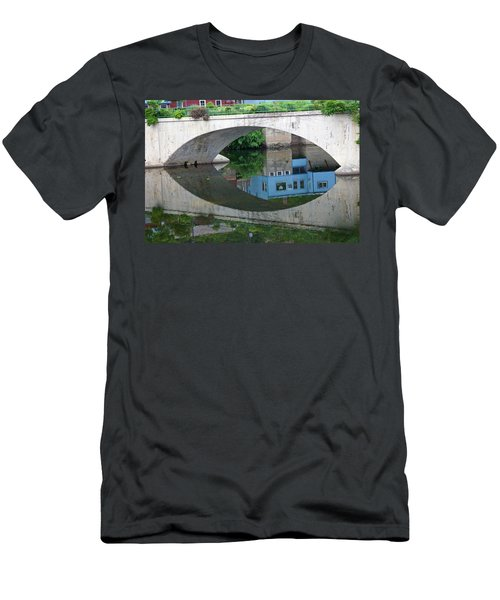 Blue Reflection Men's T-Shirt (Slim Fit) by Jim Gillen
