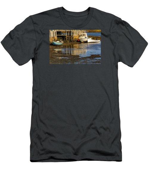 Blue Rocks, Nova Scotia Men's T-Shirt (Athletic Fit)