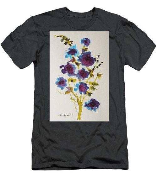 Blue Spring Men's T-Shirt (Athletic Fit)