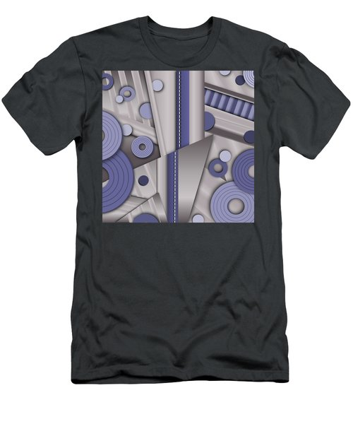 Blue Steel Men's T-Shirt (Slim Fit) by Tara Hutton