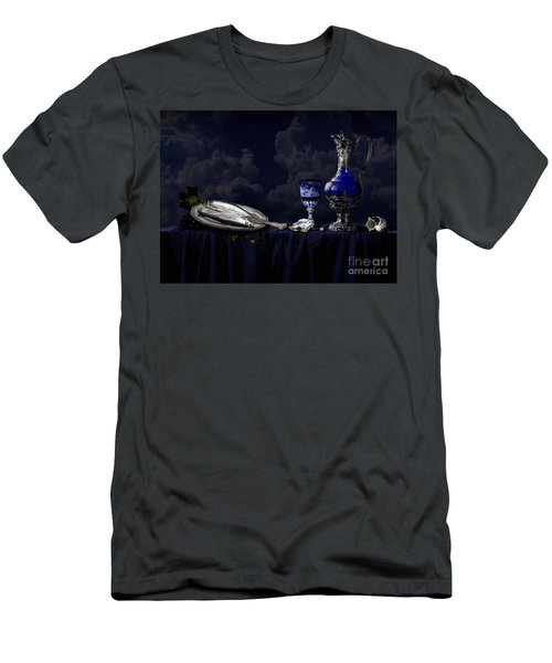 Still Life In Blue Men's T-Shirt (Athletic Fit)