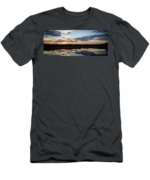 Blue Sunset 2 Men's T-Shirt (Athletic Fit)