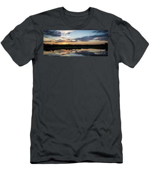 Blue Sunset 2 Men's T-Shirt (Athletic Fit)
