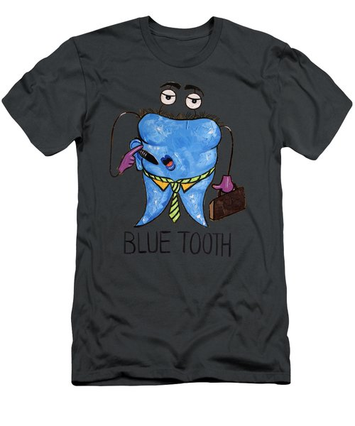 Blue Tooth Men's T-Shirt (Athletic Fit)