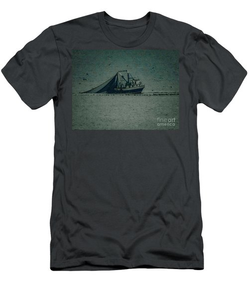 Blue Trawler 3 Men's T-Shirt (Athletic Fit)
