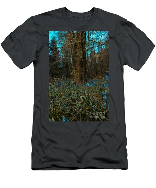 Bluebells In Lismore Forest 2 Men's T-Shirt (Athletic Fit)