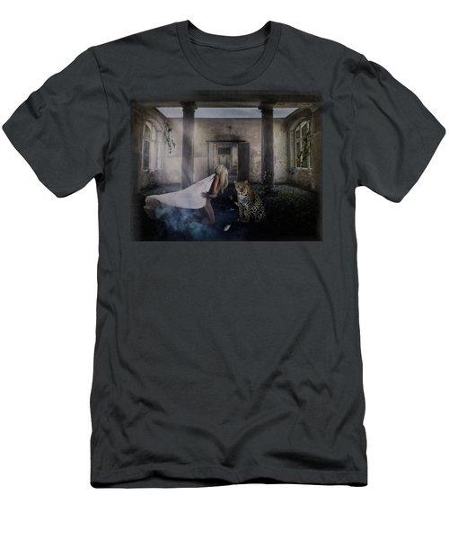 Bluebonnet Hall Men's T-Shirt (Athletic Fit)