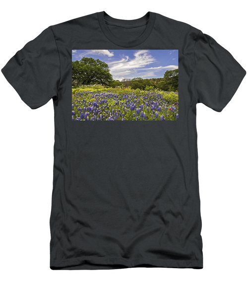 Bluebonnet Spring Men's T-Shirt (Athletic Fit)