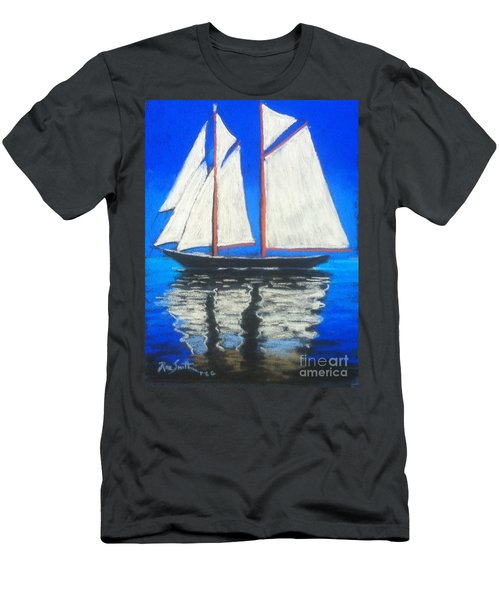 Bluenose 2 Men's T-Shirt (Slim Fit) by Rae  Smith