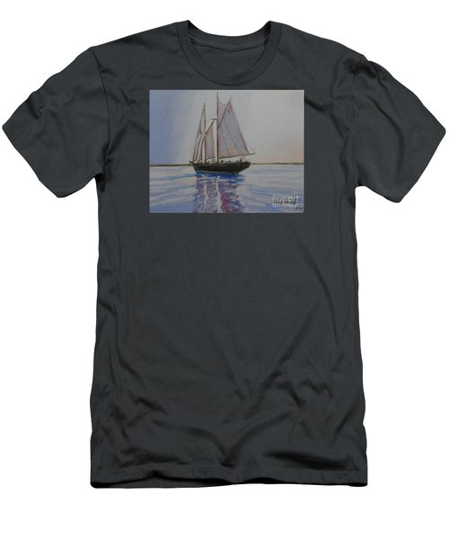Bluenose Men's T-Shirt (Slim Fit) by Rae  Smith