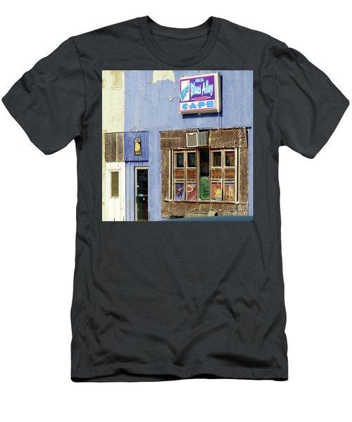Blues Alley, Clarksdale Men's T-Shirt (Athletic Fit)