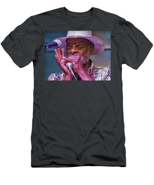 Blues Harp Men's T-Shirt (Athletic Fit)