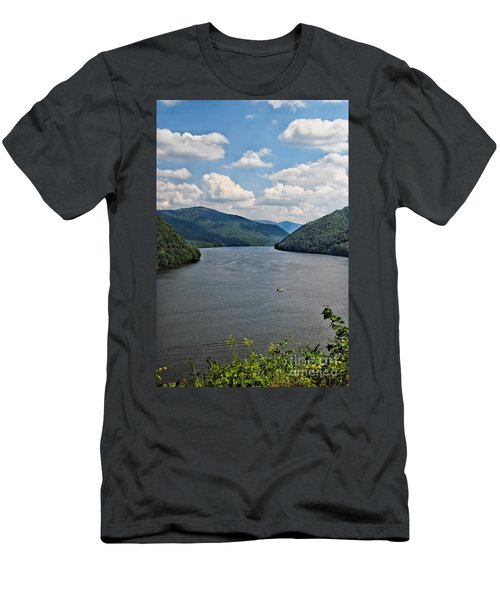 Bluestone Lake - Hinton West Virginia Men's T-Shirt (Athletic Fit)