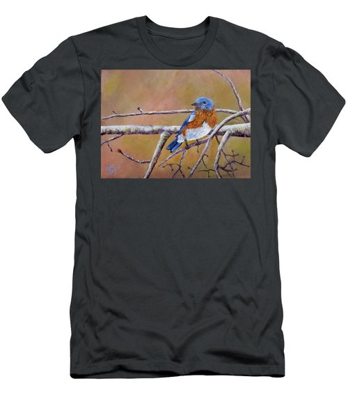 Bluey Men's T-Shirt (Slim Fit) by Dan Wagner