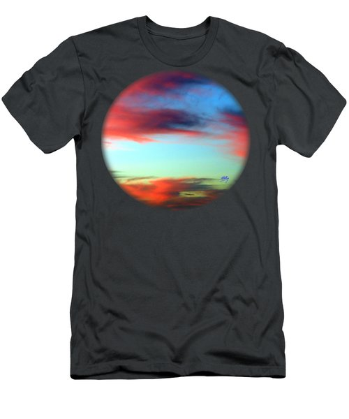 Blushed Sky Men's T-Shirt (Athletic Fit)