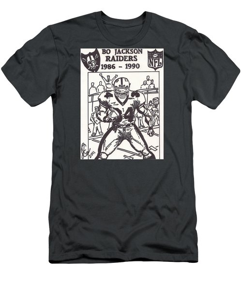 Bo Jackson 1 Men's T-Shirt (Athletic Fit)