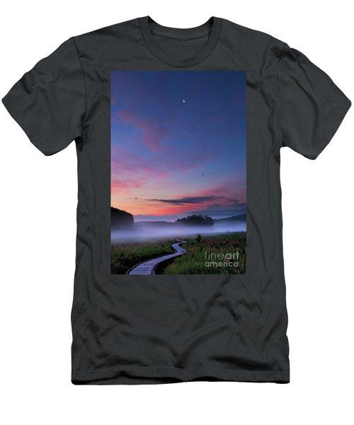 Boardwalk Men's T-Shirt (Slim Fit) by Nicki McManus