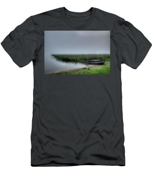 Boat In The Fog Men's T-Shirt (Athletic Fit)