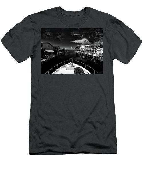 Boat Ride Men's T-Shirt (Slim Fit) by Kevin Cable