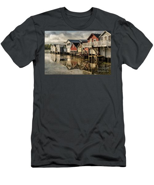Boathouse Reflections Men's T-Shirt (Athletic Fit)