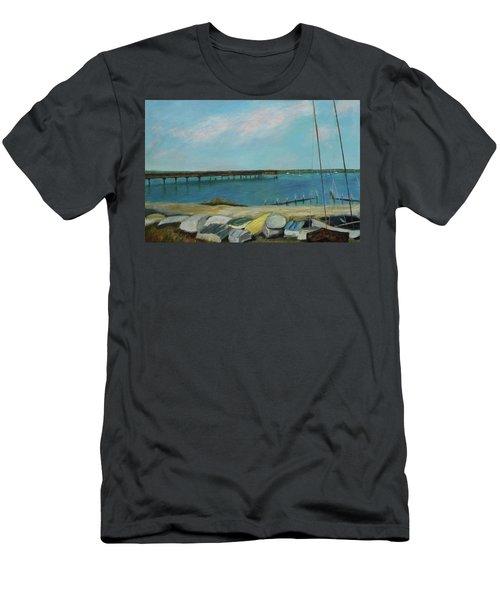 Boats Of Salt Run Too Men's T-Shirt (Athletic Fit)