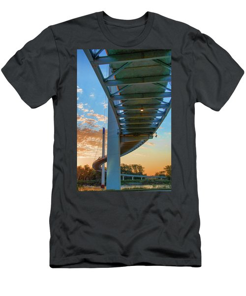 Bob Kerry Bridge At Sunrise-2 Men's T-Shirt (Athletic Fit)