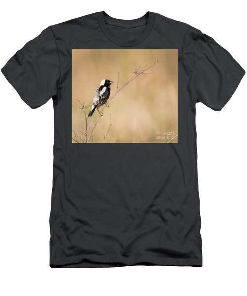 Men's T-Shirt (Athletic Fit) featuring the photograph Bobolink  by Ricky L Jones
