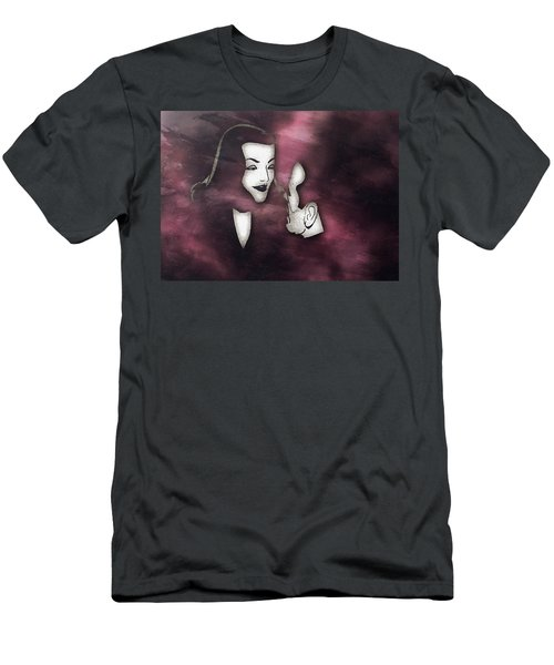 Bogart And Bacall Men's T-Shirt (Athletic Fit)