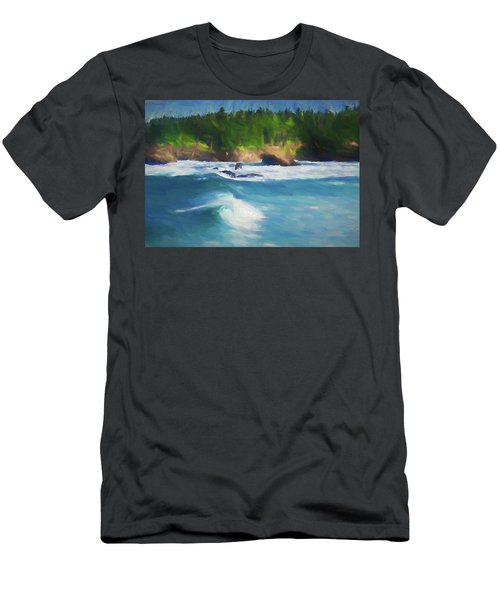 Boiler Bay Blues Men's T-Shirt (Athletic Fit)