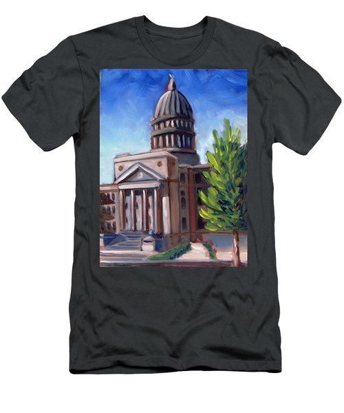 Boise Capitol Building 01 Men's T-Shirt (Athletic Fit)