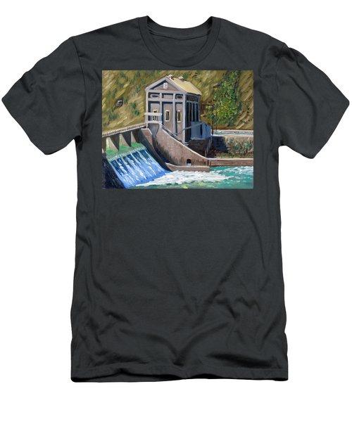 Boise Diversion Dam Men's T-Shirt (Athletic Fit)
