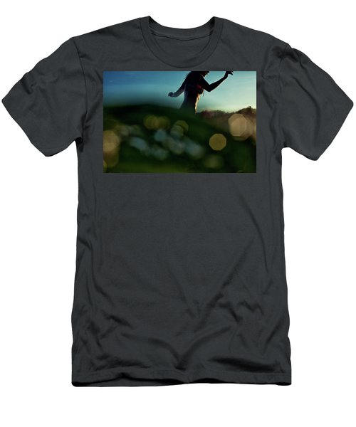 Bokeh Men's T-Shirt (Athletic Fit)