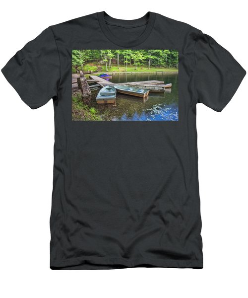 Boley Lake Men's T-Shirt (Athletic Fit)