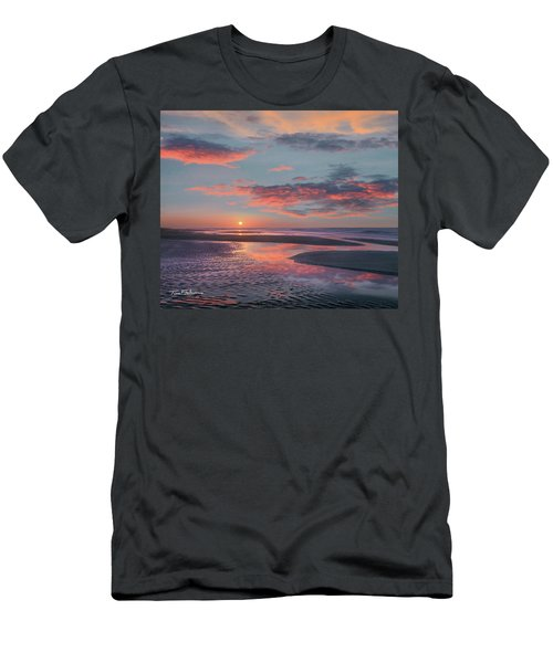 Bolivar Flats, Texas Men's T-Shirt (Athletic Fit)