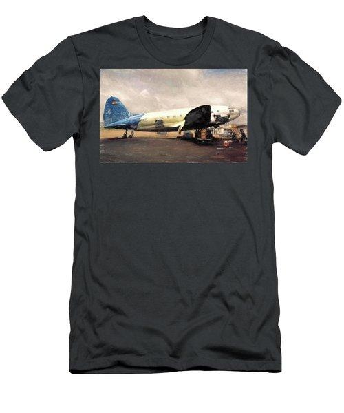 Bolivian Air Men's T-Shirt (Slim Fit) by Michael Cleere